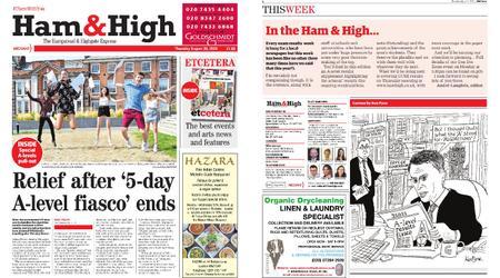 Ham & High – August 20, 2020