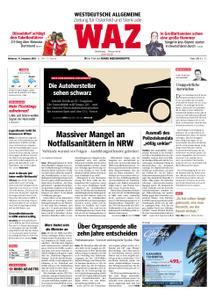 WAZ Westdeutsche Allgemeine Zeitung Oberhausen-Sterkrade - 19. Dezember 2018
