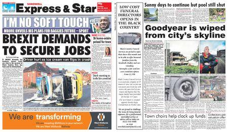 Express and Star Sandwell Edition – May 22, 2018