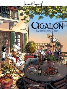 Marcel Pagnol en BD - Cigalon