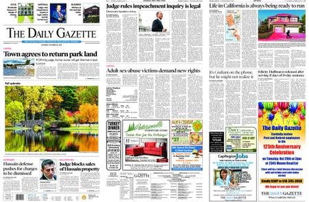 The Daily Gazette – October 26, 2019