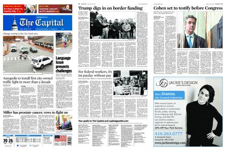 The Capital – January 11, 2019