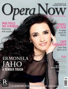 Opera Now – December 2018
