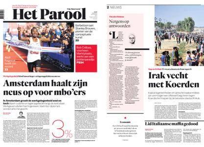 Het Parool – 16 oktober 2017