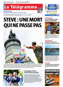 Le Télégramme Ouest Cornouaille – 04 août 2019