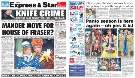 Express and Star City Edition – September 17, 2019