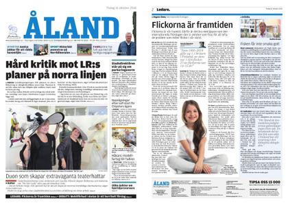 Ålandstidningen – 16 oktober 2018