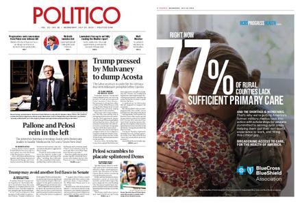 Politico – July 10, 2019