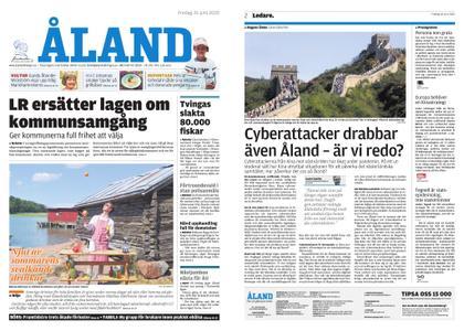 Ålandstidningen – 26 juni 2020