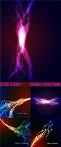 Stock Vector Fantasy Background