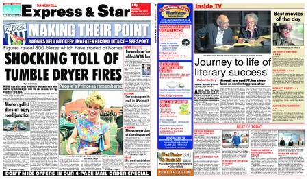 Express and Star Sandwell Edition – August 28, 2017