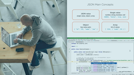 Java EE: Working with JSON Using JSON-B and JSON-P