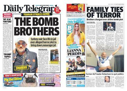 The Daily Telegraph (Sydney) – August 04, 2017