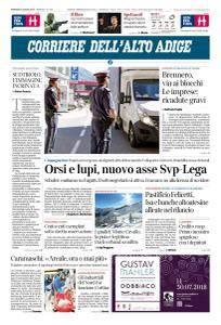 Corriere dell'Alto Adige - 10 Luglio 2018