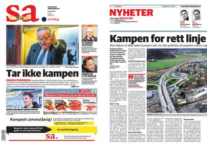 Sarpsborg Arbeiderblad – 21. mars 2019
