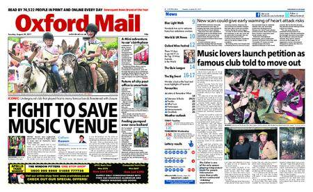 Oxford Mail – August 29, 2017