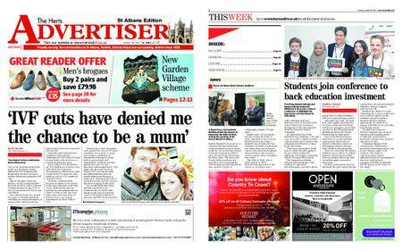 The Herts Advertiser – October 19, 2017