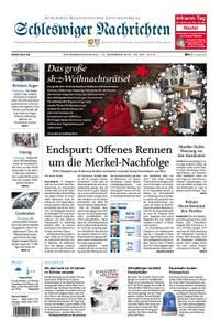 Schleswiger Nachrichten - 01. Dezember 2018