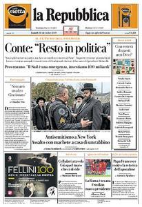 la Repubblica - 30 Dicembre 2019