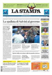 La Stampa Imperia e Sanremo - 8 Agosto 2019