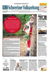 Schweriner Volkszeitung Hagenower Kreisblatt - 24. Dezember 2018