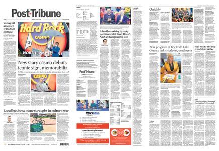 Post-Tribune – April 09, 2021