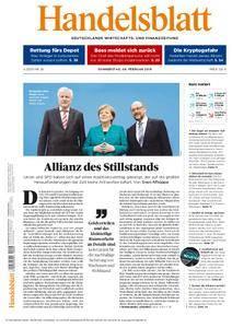 Handelsblatt - 08. Februar 2018