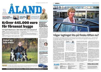 Ålandstidningen – 20 november 2019