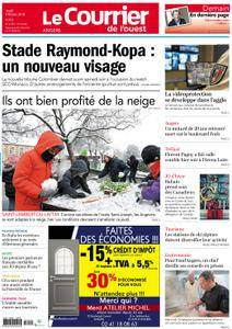 Le Courrier de l'Ouest Angers - 08 février 2018