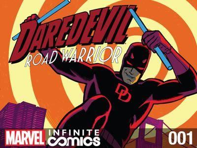 Daredevil - Road Warrior Infinite Comic 001 2014  2 covers digital