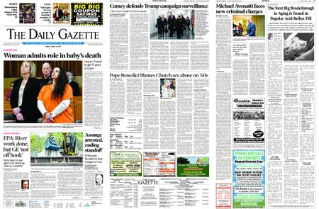 The Daily Gazette – April 12, 2019