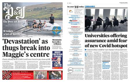 The Press and Journal Moray – August 31, 2020