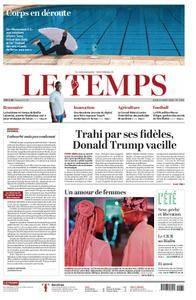 Le Temps - 23 août 2018