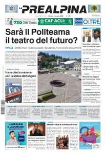 La Prealpina - 4 Giugno 2020