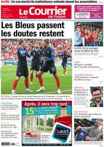 Le Courrier de l'Ouest Angers - 22 juin 2018