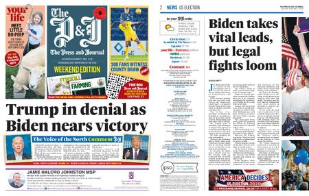 The Press and Journal Moray – November 07, 2020