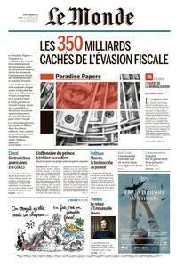 Le Monde du Mardi 7 Novembre 2017