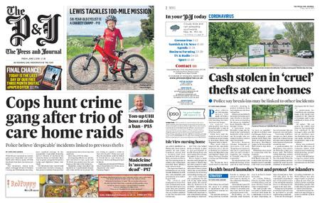 The Press and Journal Moray – June 05, 2020