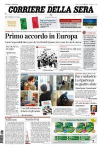 Corriere della Sera – 24 aprile 2020