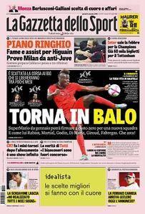 La Gazzetta dello Sport - 6 Settembre 2018