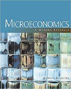 Microeconomics: A Modern Approach  [Repost]