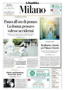 la Repubblica Milano - 13 Agosto 2019
