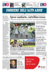 Corriere dell'Alto Adige – 30 settembre 2018