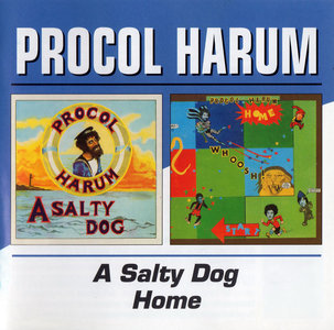 Procol Harum: A Salty Dog (1969) / Home (1970) [2003, BGO Rec. BGOCD558]