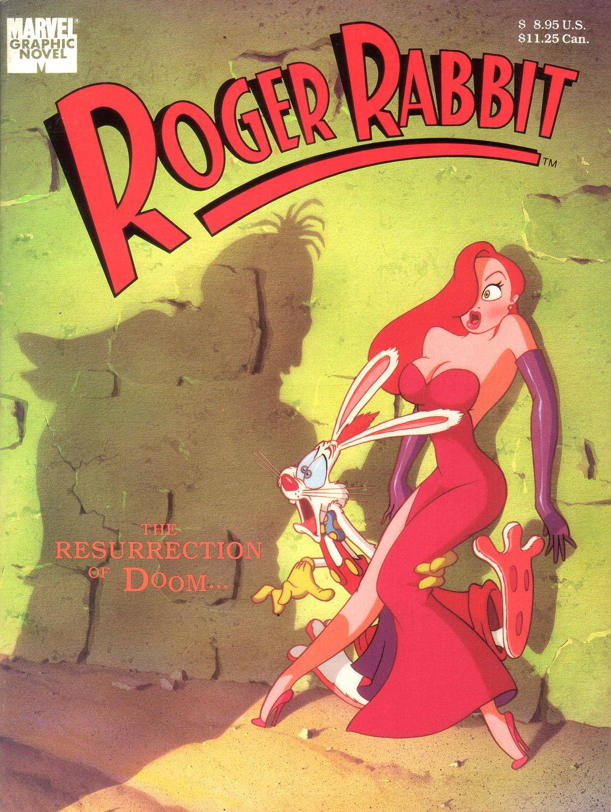 Marvel Graphic Novel 54 - Roger Rabbit 1989