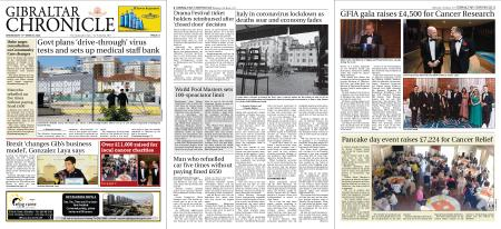 Gibraltar Chronicle – 11 March 2020
