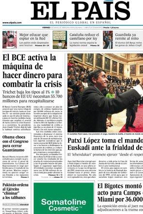 El País. 8 Mayo
