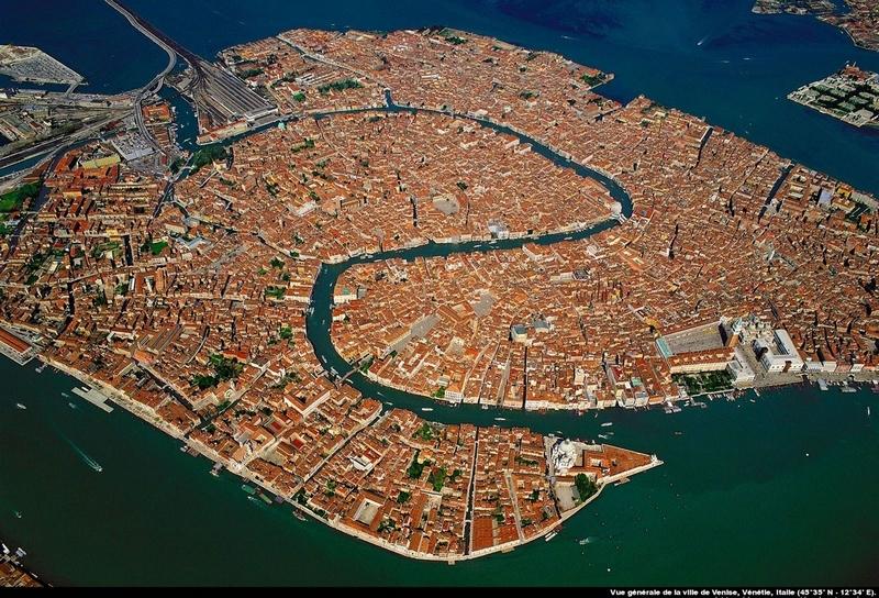 Aerial photography by Yann Arthus Bertrand