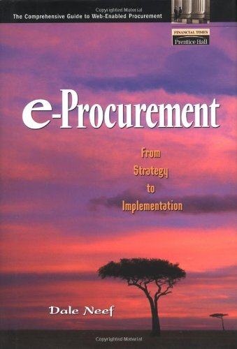 e-Procurement: From Strategy to Implementation (repost)