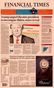 Financial Times Europe – 26 September 2019